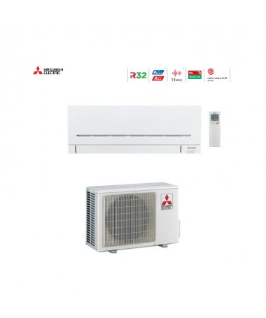 mitsubishi electric condizionatore climatizzatore mitsubishi msz-ap35vgk /muz-ap35vg monosplit gas r-32 wi-fi 12000 btu