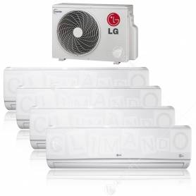 Condizionatore LG quadri split inverter Libero 9+9+9+18 con MU5M30 U44 New 2017
