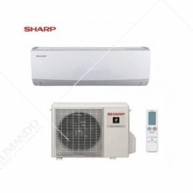 Condizionatore Climatizzatore Sharp inverter Serie Smile Curve SSR AY-XC12SSR 12000 BTU