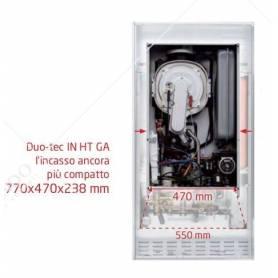 Caldaia Baxi Luna Duo-Tec in 24 HT GA a condensazione completa di kit scarico fumi