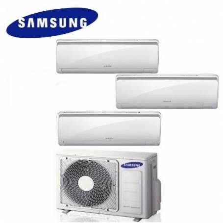 Condizionatore Climatizzatore trial split Samsung inverter 9+9+12 Maldives Quantum 9000+9000+12000 BTU con AJ052FCJ