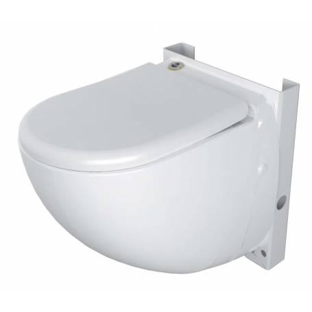WC sospeso con trituratore incorporato marca Sfa Sanitrit modello: Sanicompact Comfort Silence