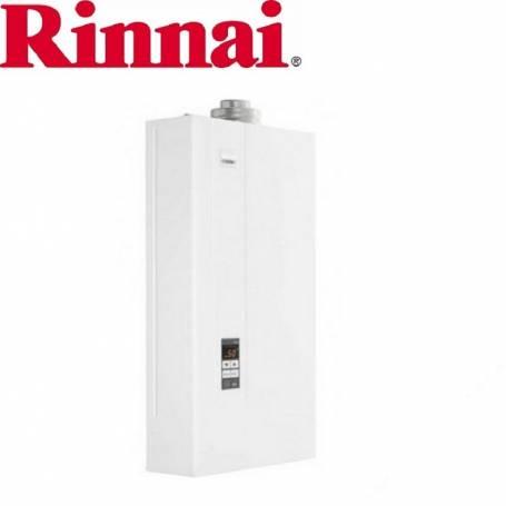 Scaldabagno a gas Rinnai Infinity 17i interno metano completo di kit scarico fumi
