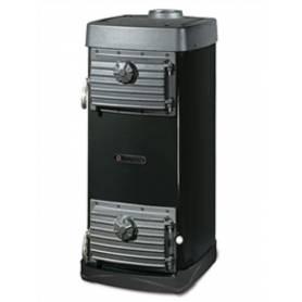 Stufa a legna in acciaio e ghisa La Nordica Extraflame mod. Major 6,5 kW nero