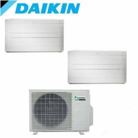 Condizionatore Climatizzatore Daikin inverter 12+12 a pavimento Serie NEXURA 12000+12000 con 2MXS50H