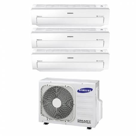 Condizionatore Climatizzatore trial split Samsung inverter 9+9+12 Serie AR5500M Smart WIFI 9000+9000+12000 BTU con AJ052FCJ3EH/E