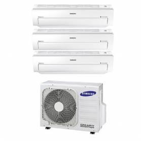 Condizionatore Climatizzatore trial split Samsung inverter 9+9+9 Serie AR5500M Smart WIFI 9000+9000+9000 BTU con AJ052MCJ3EH/EU