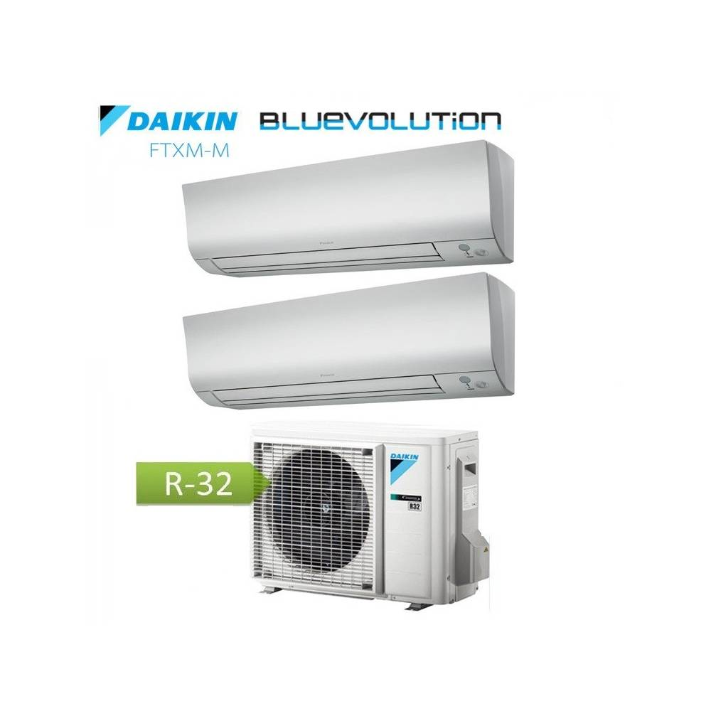 Condizionatore climatizzatore daikin dual split inverter for Split condizionatore