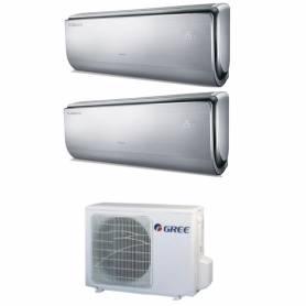 Condizionatore Climatizzatore Gree dual split inverter Serie U-Crown 9000+9000 con GWHD18NK3KO