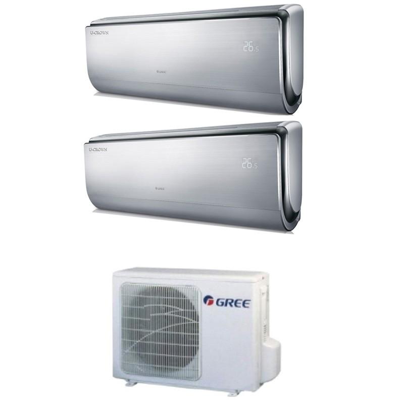 Climatizzatore Condizionatore Gree Dual Split Inverter