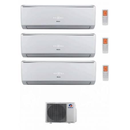 Condizionatore Climatizzatore Gree trial split inverter Serie Lomo 9+12+12 con GWHD24NK3KO
