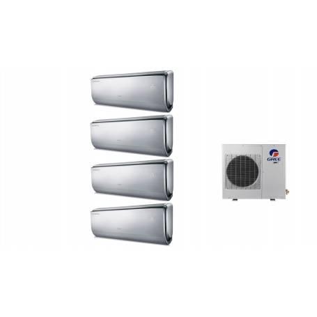 Condizionatore Climatizzatore Gree quadri split inverter Serie U-Crown 9+9+9+12 con GWHD36NK3BO