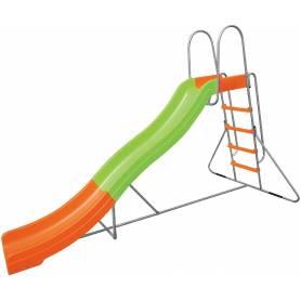 Scivolo per bambini da esterno in plastica cm 150x317x204h Mod. SL-03