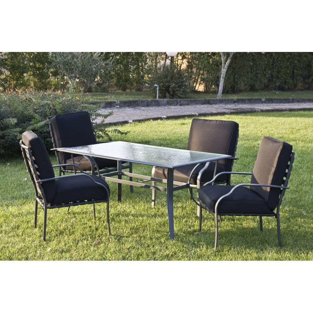 Tavoli Da Giardino In Alluminio.Tavolo Da Esterno Giardino In Alluminio Verniciato Con Vetro Mod