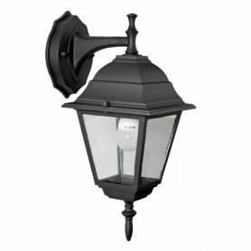 Lanterna da esterno in alluminio con braccio cm 15x15x35h Mod. Baby