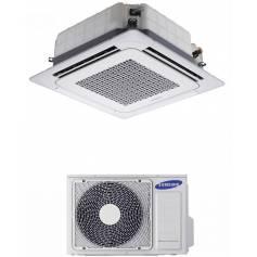 Condizionatore Climatizzatore monosplit Samsung Mini cassetta a 4 vie AC035FBNDEH/EU 12000 BTU con comando wireless