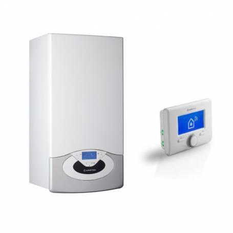 Caldaia Ariston Genus Premium NET 24 EU Metano smart Wi-Fi a condensazione ErP completa di kit fumi