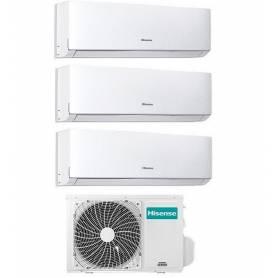 Condizionatore Climatizzatore Hisense trial split inverter Serie Comfort 7000+7000+9000 btu 7+7+9 con 3AMW-58U4SZD1