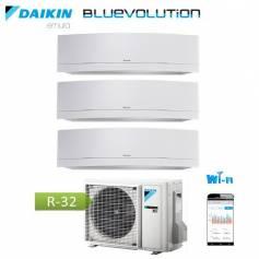 Condizionatore Climatizzatore Daikin trial split inverter Emura White R-32 Bluevolution 12+12+12 con 3MXM68M