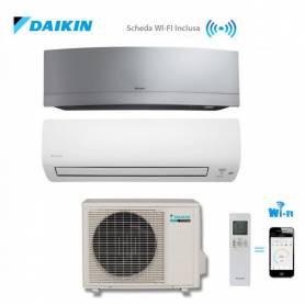Condizionatore Climatizzatore Daikin trial split inverter Mix Serie K 7000+7000 + Emura Silver Wi Fi 12000 BTU con 3MXS52E