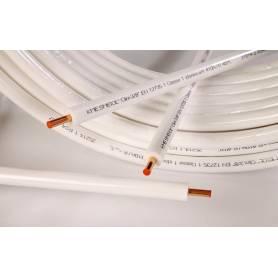 """Tubo rame Kme Smisol per climatizzazione 50 mt DA 3/8"""" spessore 0,7 mm"""
