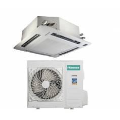Condizionatore Climatizzatore Hisense a cassetta inverter AUC-36UR4SEA1 36000 BTU con pannello