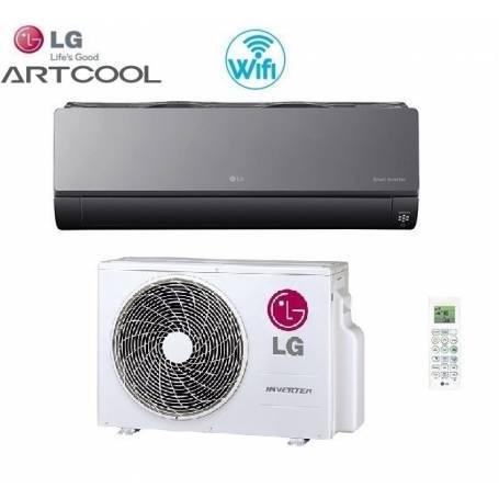 Condizionatore Climatizzatore LG Smart inverter Wi-Fi Serie Artcool AM12BP 12000 BTU