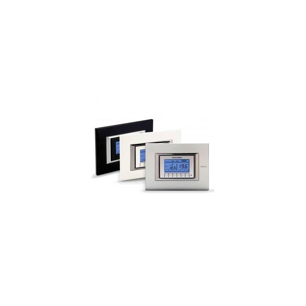 Cronotermostato elettronico settimanale da incasso fantini for Cronotermostato fantini cosmi ch141