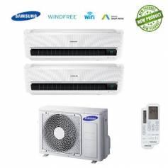 Condizionatore Samsung Inverter Dual Split AR9500M Windfree 7000+12000 Con AJ040FCJ Smart Wifi - New 2017