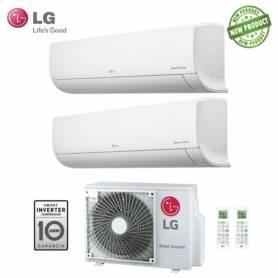 Condizionatore LG Dual Split Libero Serie EP Inverter 7000+12000 Con MU2M15 UL4 - New 2017