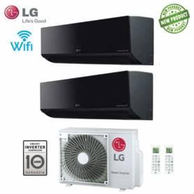 Condizionatore Climatizzatore LG dual split inverter Art Cool Wi-Fi 9000+9000 con MU2M17 UL4