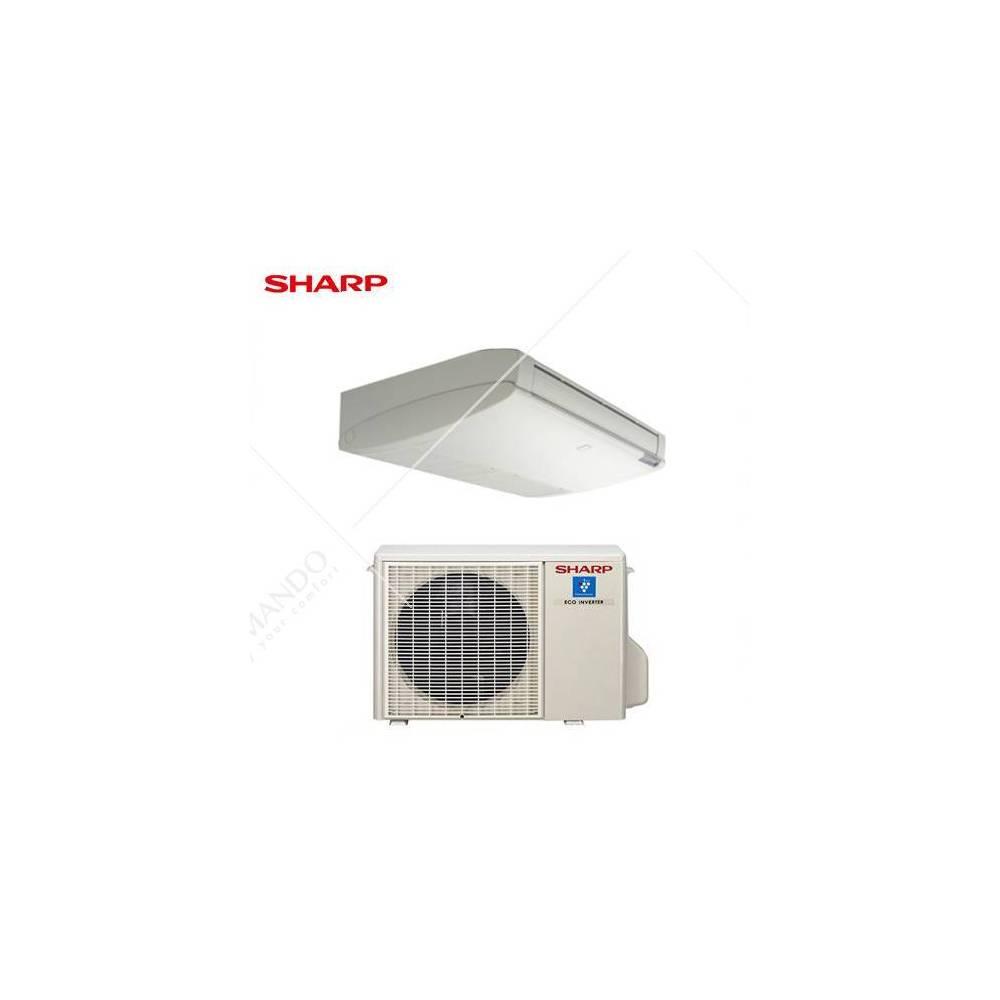 Condizionatore sharp split soffitto pavimento inverter gs for Split condizionatore