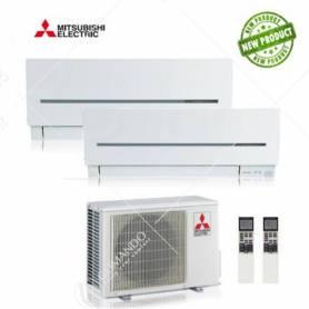 Condizionatore Climatizzatore Mitsubishi Electric Dual Split Inverter Serie Sf 9000+18000 Con MXZ-2D53VA