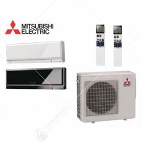 Condizionatore Mitsubishi Electric Dual Split Inverter Kirigamine Zen 9000+15000 Con MXZ-2D53VA2