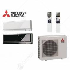 Condizionatore Climatizzatore Mitsubishi Electric Dual Split Inverter Kirigamine Zen 9000+15000 Con MXZ-2D53VA2