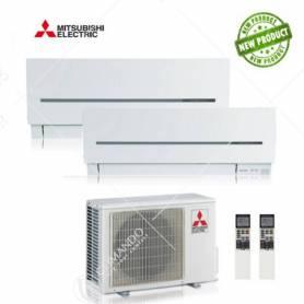 Condizionatore Mitsubishi Electric Dual Split Inverter Serie Sf 9000+15000 Con MXZ-2D53VA2 NEW