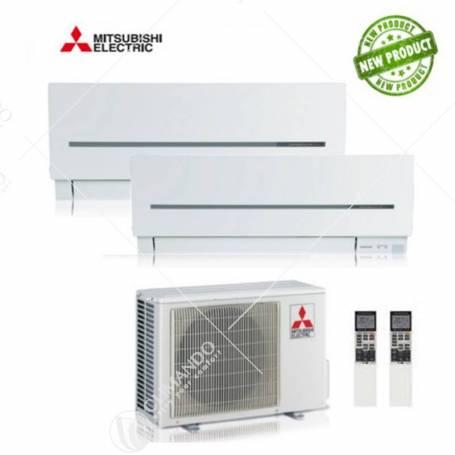 Condizionatore Mitsubishi Electric Dual Split Inverter Serie SF 9000+9000 con MXZ-2D53VA2 NEW