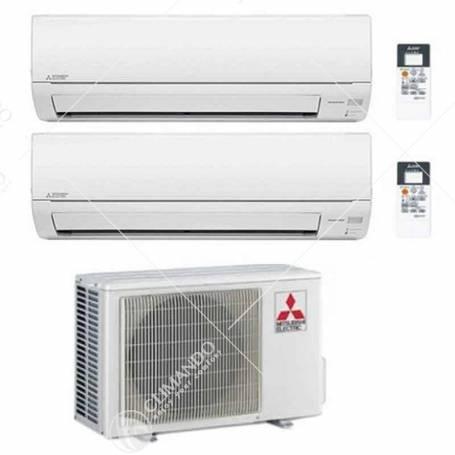 Condizionatore Climatizzatore Mitsubishi Electric Dual Split Inverter Serie MSZ-DM 12000+12000 BTU CON MXZ-3DM50VA NEW