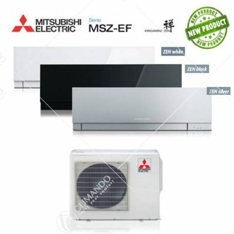 Condizionatore Mitsubishi Electric Trial Split Inverter Serie MSZ-EF3 KIRIGAMINE ZEN 12+12+12 CON MXZ-3E68VA NEW