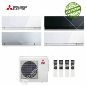 Condizionatore Climatizzatore Mitsubishi Electric Quadri Split Inverter Kirigamine Zen 9+9+12+12 CON MXZ-4E72VA