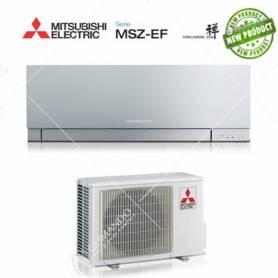 Condizionatore Mitsubishi Electric Inverter Kirigamine Zen 9000 BTU MSZ-EF25VE2/3S SILVER A+++