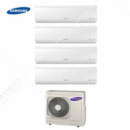 Condizionatore Quadri Split Samsung Inverter New Style 9+9+9+9 Con AJ070FCJ 9000+9000+9000+9000