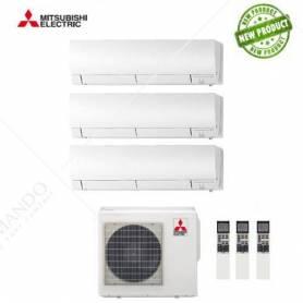 Condizionatore Mitsubishi Electric Trial Split Inverter Kirigamine 9+12+12 CON MXZ-3E68VA