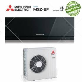 Condizionatore Climatizzatore Mitsubishi Electric Inverter Kirigamine Zen Black 18000 BTU MSZ-EF50VE2/3B A++