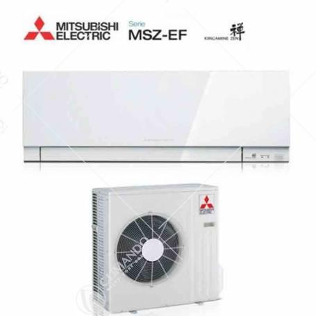 Condizionatore Mitsubishi Electric Inverter Kirigamine Zen 18000 BTU MSZ-EF50VE2/3W Bianco A++