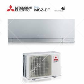 Condizionatore Climatizzatore Mitsubishi Electric Inverter Kirigamine Zen Silver 15000 BTU MSZ-EF42VE2/3S A++