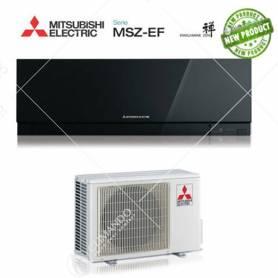 Condizionatore Climatizzatore Mitsubishi Electric Inverter Kirigamine Zen Black 12000 BTU MSZ-EF35VE2/3B A+++