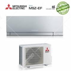 Condizionatore Climatizzatore Mitsubishi Electric Inverter Kirigamine Zen Silver 12000 BTU MSZ-EF35VE2/3S A+++