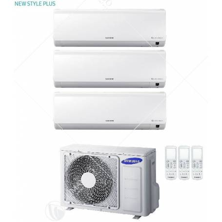Condizionatore Samsung Trial Split Inverter Serie New Style Plus 7+9+12 Con AJ052FCJ - Modello 2017