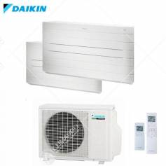 Condizionatore Climatizzatore Daikin Dual Split Inverter Pavimento Serie Nexura 9000+9000 Con 2MXS40H